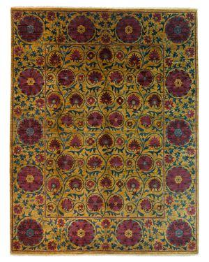 Solo Rugs Suzani Area Rug, 10'8 x 8'3