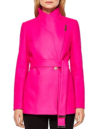 f4979cd28 Ted Baker - Keyla Short Wrap Coat
