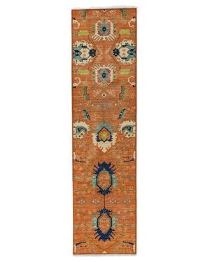 Solo Rugs Eclectic Runner Rug, 2'8 x 10'2