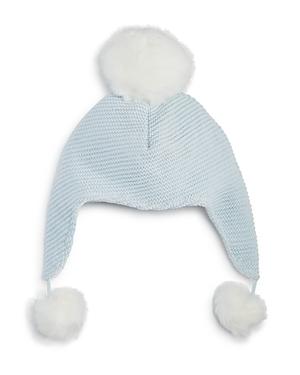 Elegant Baby Boys PomPom Aviator Hat  Baby