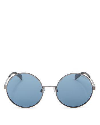 5cd7c12976bb7 Polaroid - Women s Round Polarized Sunglasses