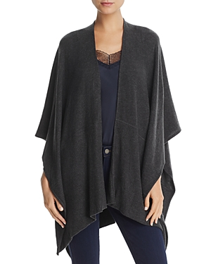 Three Dots Hacci Heathered Serape
