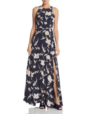 Yumi Kim Dream Floral Print Silk Maxi Dress