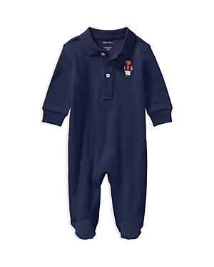 Ralph Lauren Childrenswear Boys Polo Bear Coverall  Baby