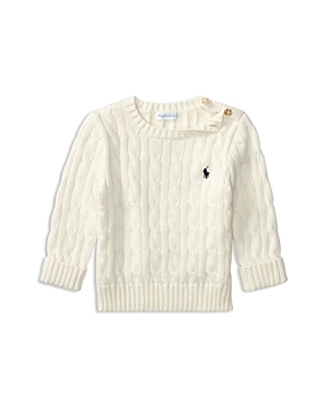 Ralph Lauren Childrenswear Boys' Cable-Knit Sweater - Baby