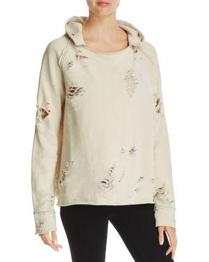 Generation Love Sierra Distressed Hooded Sweatshirt