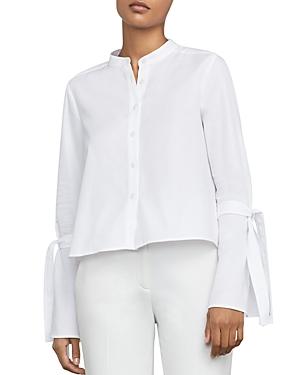 Bcbgmaxazria Marrisa Tie-Sleeve Shirt at Bloomingdale's