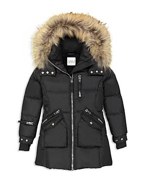 Sam Girls FurTrimmed Puffer Jacket  Big Kid