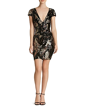 Dress the Population Zoe Sequin Dress