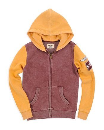 Butter - Boys' Color-Block Graphic Hoodie - Big Kid