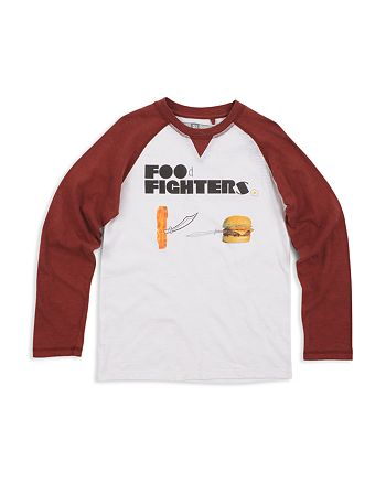 Butter - Boys' Raglan Food Fighters Tee - Little Kid, Big Kid