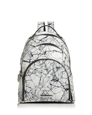 Kendall and Kylie Sloane Marble Print Backpack