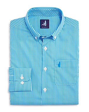 Johnnieo Boys Augusta Jr Prepformance Gingham Shirt  Little Kid Big Kid