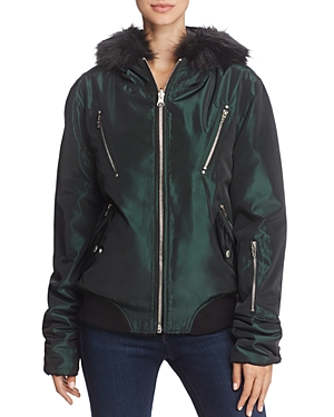 Blanknyc Sailor Jupiter Reversible Faux Fur Jacket