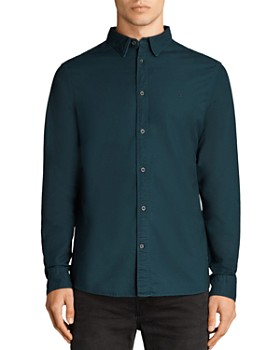 86a10c36 ALLSAINTS Men's Casual Button Down Shirts - Bloomingdale's ...