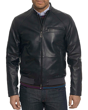 Robert Graham Massena Leather Moto Jacket