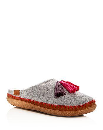 efb4928e492 TOMS Women's Ivy Drizzle Wool Tassel Slippers | Bloomingdale's