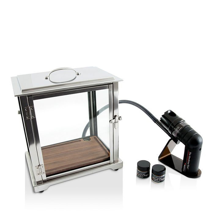 Crafthouse by Fortessa - Crafthouse The Smoking Box™ with Handheld Smoker