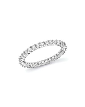 Bloomingdale's Diamond Eternity Band in 14K White Gold, 2.0 ct. t.w. - 100% Exclusive