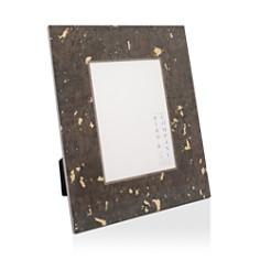 "Bird & Co - Chocolate with Gold Leaf Frame, 4"" x 6"""