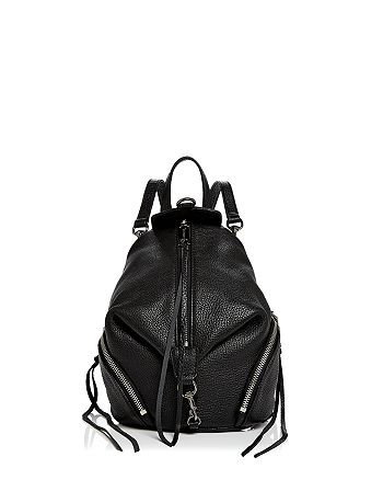 Rebecca Minkoff - Julian Convertible Mini Leather Backpack