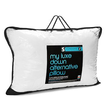 Bloomingdale's - My Luxe Down Alternative Asthma & Allergy Friendly Soft/Medium Pillow, Standard/Queen - 100% Exclusive