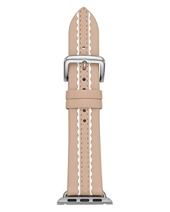 kate spade new york - Vachetta Scallop Leather Band for Apple Watch®, 38mm & 40mm