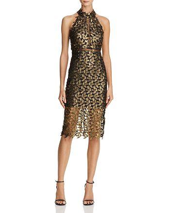 Bardot - Gemma Metallic Lace Dress