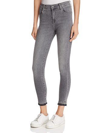 19637af56f61 J Brand Alana High-Rise Skinny Cropped Jeans in Earl Grey ...