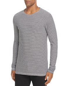 Burberry Tayford Crewneck Long Sleeve Shirt - Bloomingdale's_0