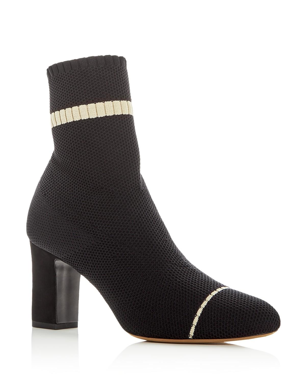 Tabitha Simmons Women's Anna Stretch Knit High-Heel Booties 2IzrS3