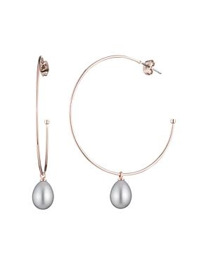 Lauren Ralph Lauren Hoop Drop Earrings