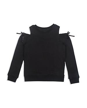 Hudson Girls ColdShoulder Sweatshirt  Big Kid