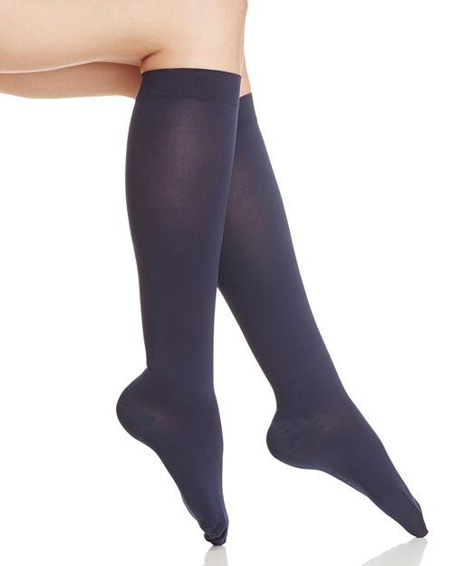 ITEM m6 - Opaque Knee-High Compression Socks