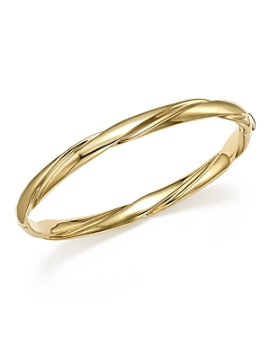 Bloomingdale's 14K Yellow Gold Wide Polished Twist Bracelet - 100% Exclusive
