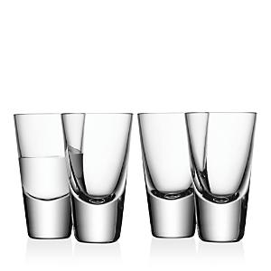 Lsa Bar Shot Glass, Set of 4
