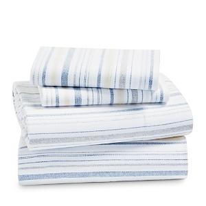 Coyuchi Cloud Brushed Organic Cotton Flannel Sheet Set, Twin