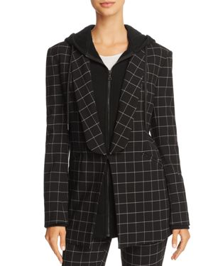 Alice + Olivia Skye Layered-Look Boyfriend Blazer