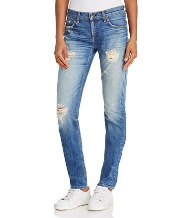 65fff68885c rag & bone/JEAN Dre Skinny Boyfriend Jeans in Erv's | Bloomingdale's