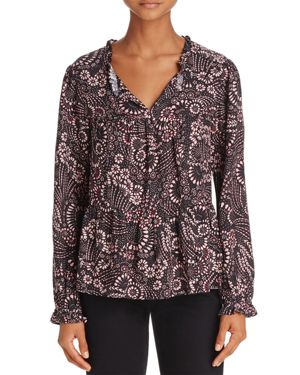 BELTAINE FLORAL PRINT BLOUSE - 100% EXCLUSIVE