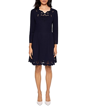 Ted Baker Emey Embroidered Dress
