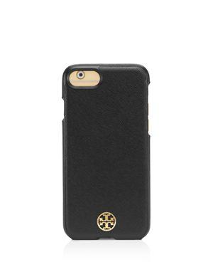 Tory Burch Robinson Hardshell Saffiano Leather iPhone 7 Case