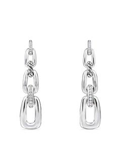 David Yurman - Wellesley Linked Chain Drop Earrings with Diamonds