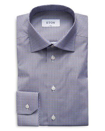 Eton - Mini Bulldog Neat Slim Fit Dress Shirt