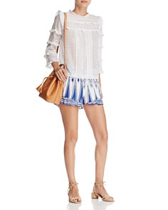 Surf Gypsy - Ruffle Swim Cover-Up Shorts