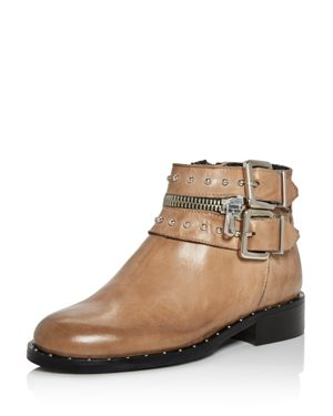 Charles David Chief Studded Leather Booties