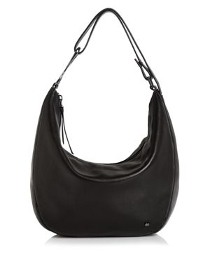 Halston Heritage Elsa Three-Way Convertible Leather Shoulder Bag