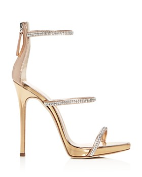 Giuseppe Zanotti - Women's Coline Embellished Strappy High-Heel Sandals