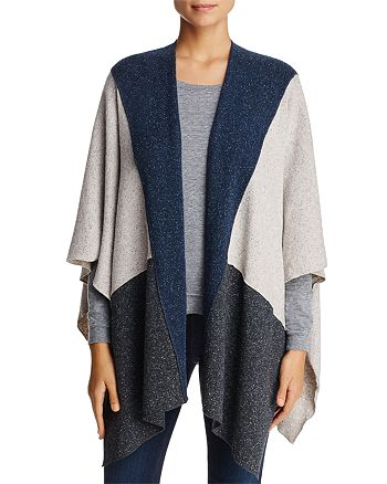 Three Dots - Donegal Knit Poncho