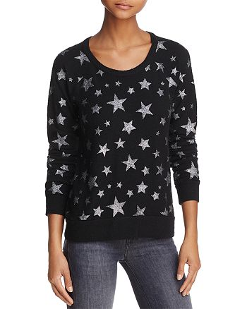 CHASER - Star Fleece Sparkle Sweatshirt - 100% Exclusive